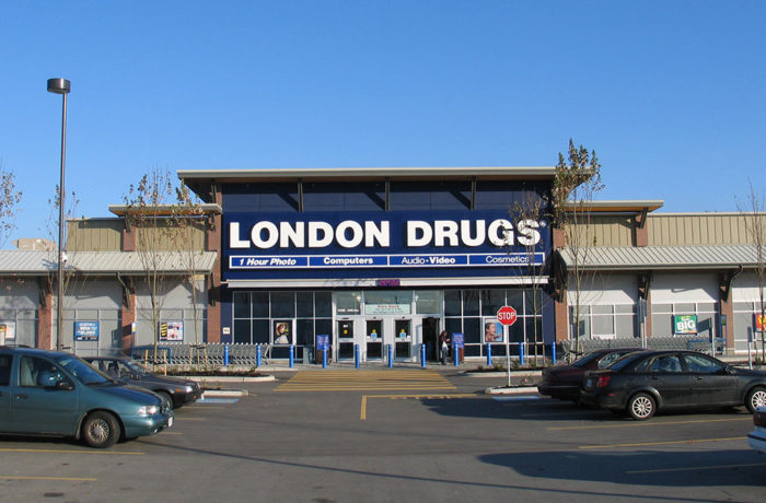 CLOVERDALE CROSSING, LONDON DRUGS