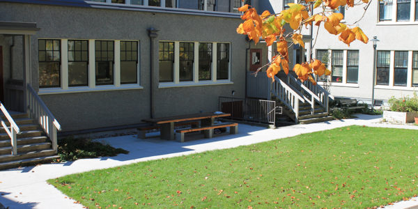 UBC Geography Courtyard