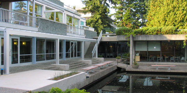 UBC Koerner University Centre Lower Level Classrooms