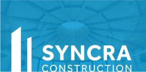 Syncra Construction Logo, New building Vancouver, pre construction homes, general contractor